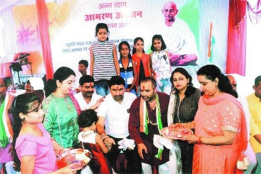 Patan MLA's hunger strike enters third day
