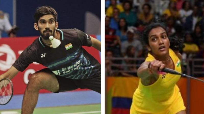 Sindhu, Srikanth get top 10 seedings