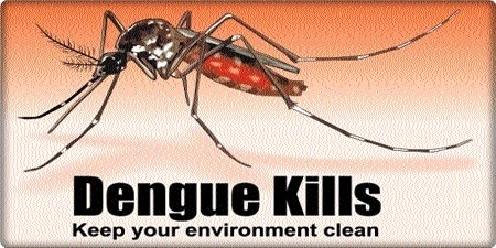 Health status of dengue patients not falling