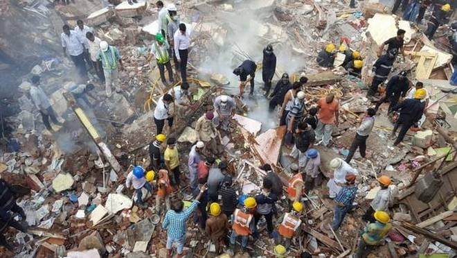 24 killed in Mumbai building collapse