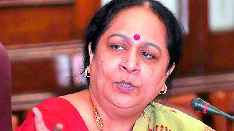 CBI books Jayanthi for abuse of power