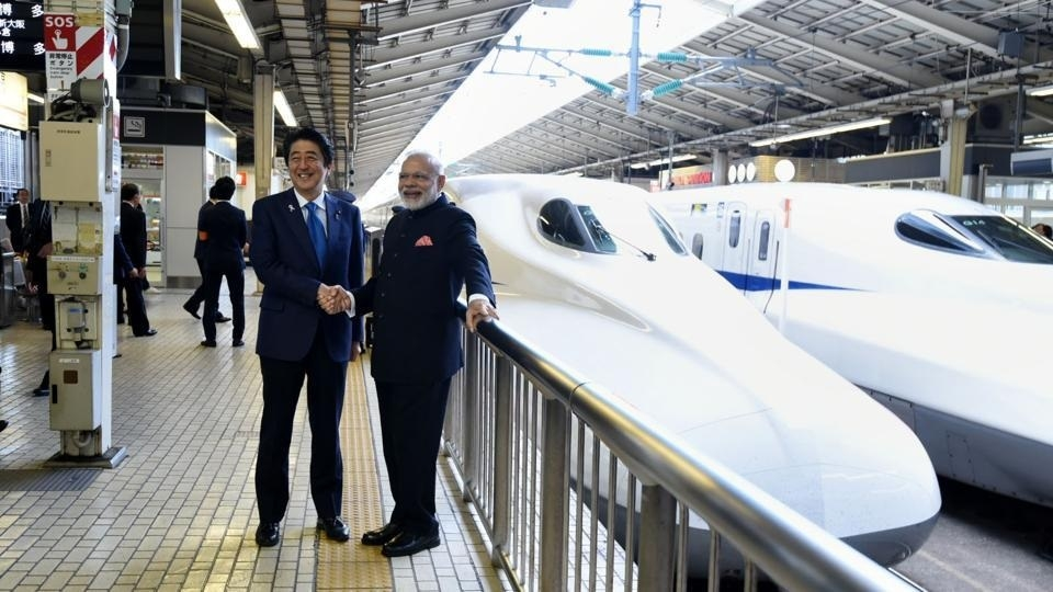 Modi, Abe to lay foundation stone for bullet train project on 14th