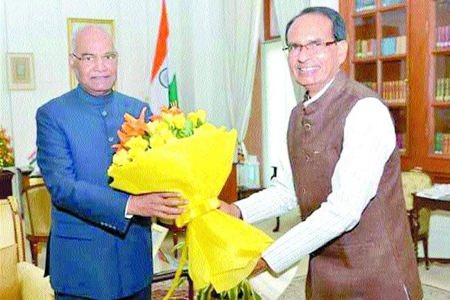 CM calls on President Kovind