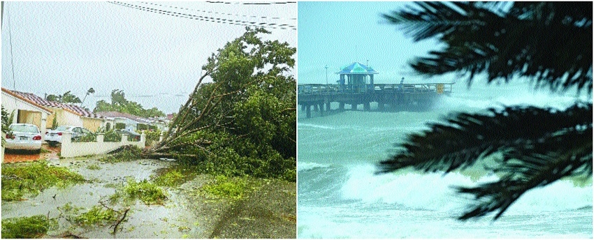 Hurricane Irma slams into Florida, three dead