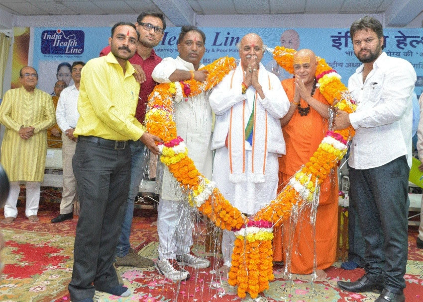 Togadia launches India Health Line
