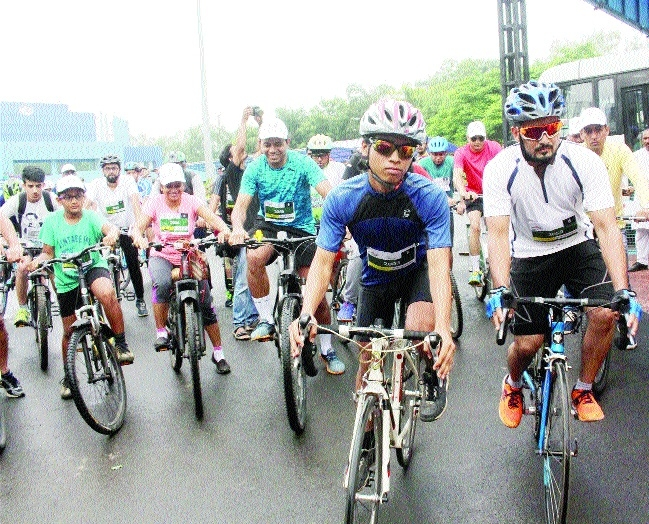 Over 350 participate with enthusiasm in Bhopal Cyclothon