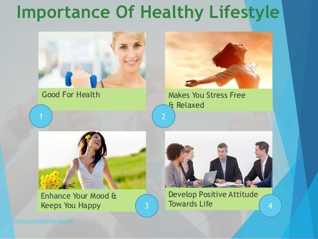 Importance of healthy lifestyle