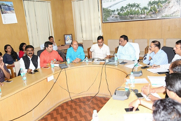 Meet held to discuss CM's visit to Sagar on 14th