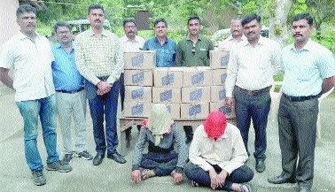 Crime Branch arrests two for illegal liquor transportation