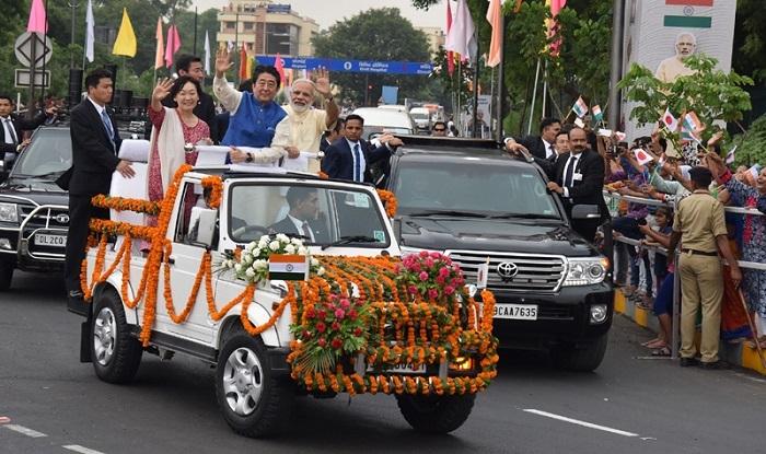 Modi-Abe bonhomie on display