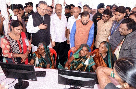 'Efforts of Raman Govt have promoted computer literacy in Chhattisgarh'