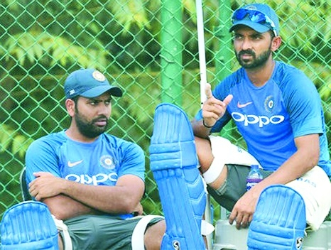 Rahane for Dhawan, hints Rohit