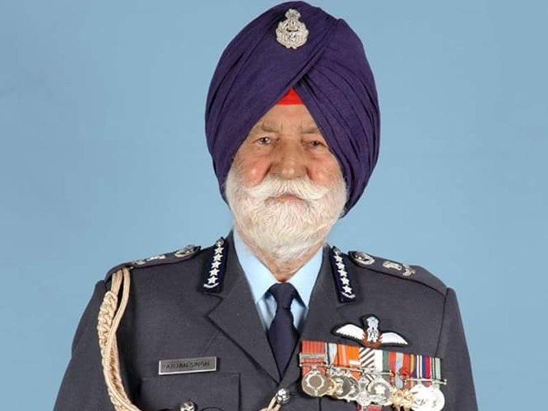 Marshal of The Air Force Arjan Singh passes away