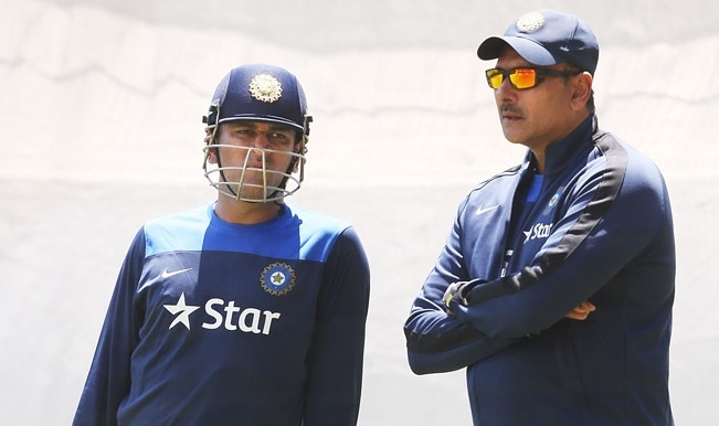 Dhoni is not even half finished yet: Shastri