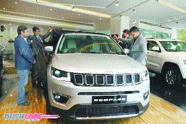 Jeep Compass bookings touch 10K