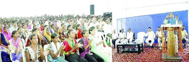Recruitment drive for Sahariya, Bhariya, Baiga youths