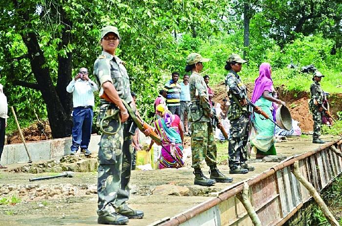 Women commandos dare rebels, ensure Tindori village connectivity with Bhairamgarh
