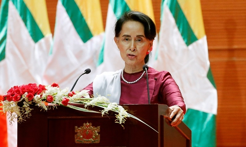 Suu Kyi rejects foreign criticism of Myanmar on Rohingya crisis