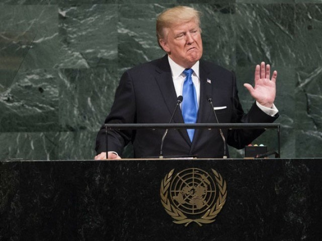 US may have to totally destroy North Korea: Trump at UN