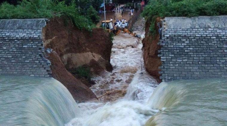 Canal wall collapses in Bihar a day before inauguration