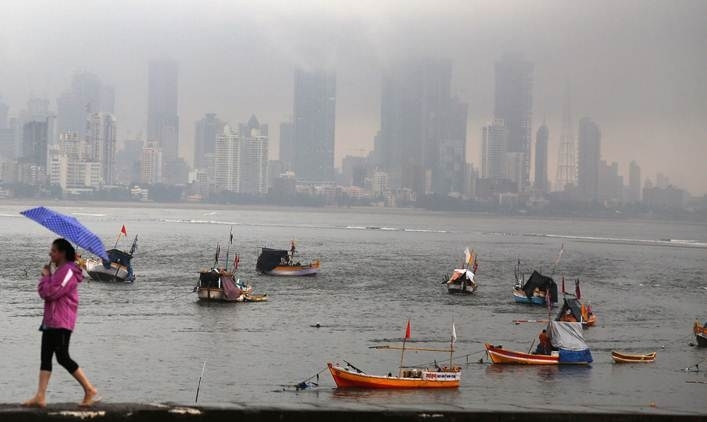 108 flights cancelled in rain-hit Mumbai