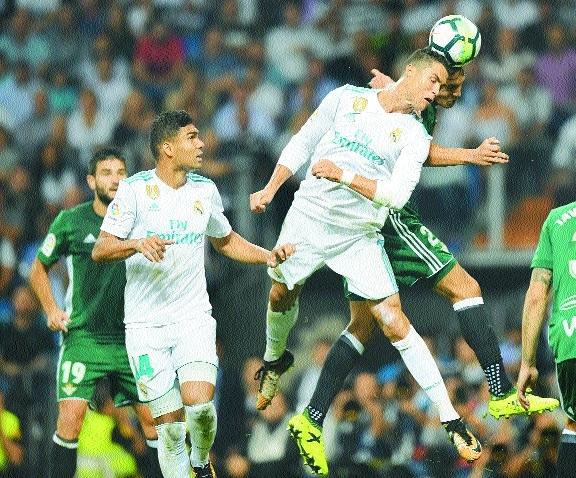 Betis shock Real Madrid