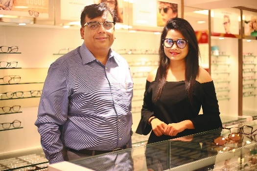 Himalaya Opticals opens second store in city