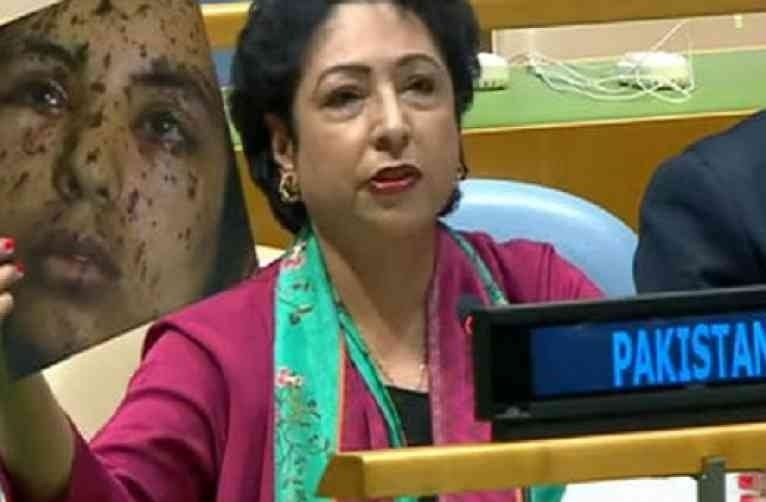 Pak's fraud at UN