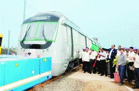 Nagpur Metro Rail's official trial run on September 30