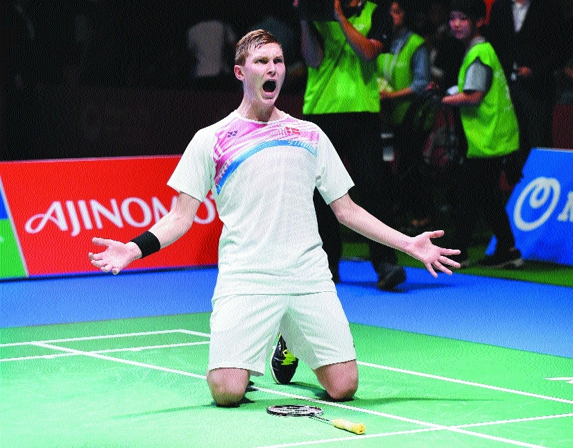 Axelsen wins first Japan Open title