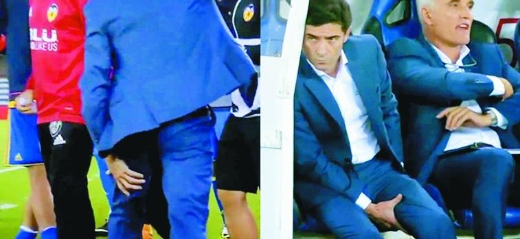 Valencia coach pays price for exuberant goal celebration