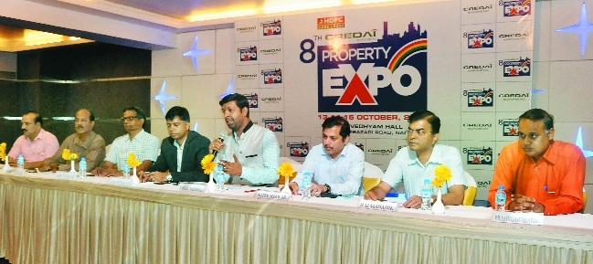 CREDAI's property expo from Oct 13