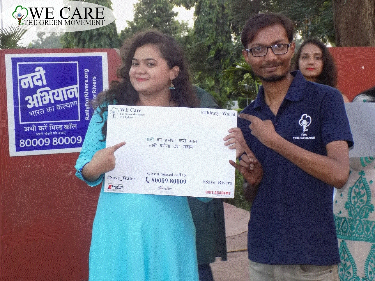 NIT Raipur supports Green Campaign