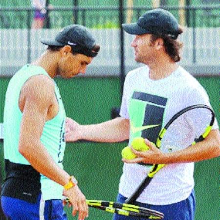 Nadal hails Moya's impact on training routine