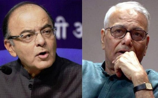 Jaitley defends Govt, slams Sinha