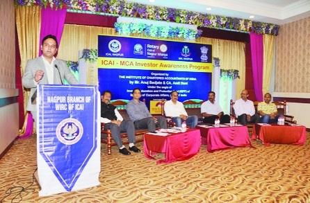 Don't invest in ponzi schemes, says CA Jotwani