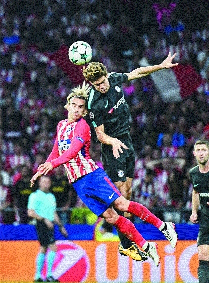 Chelsea fight back to shock Atletico