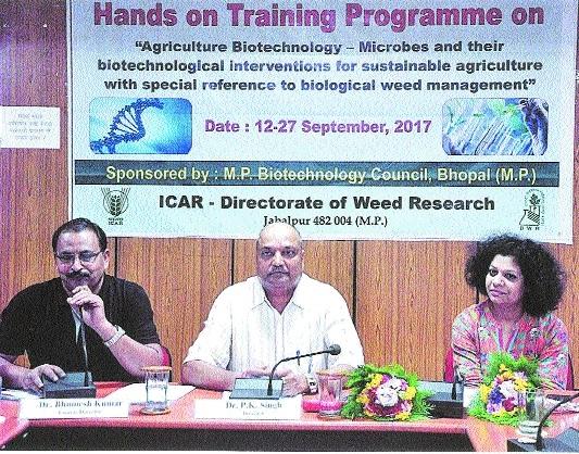 ICAR holds training on biotechnology