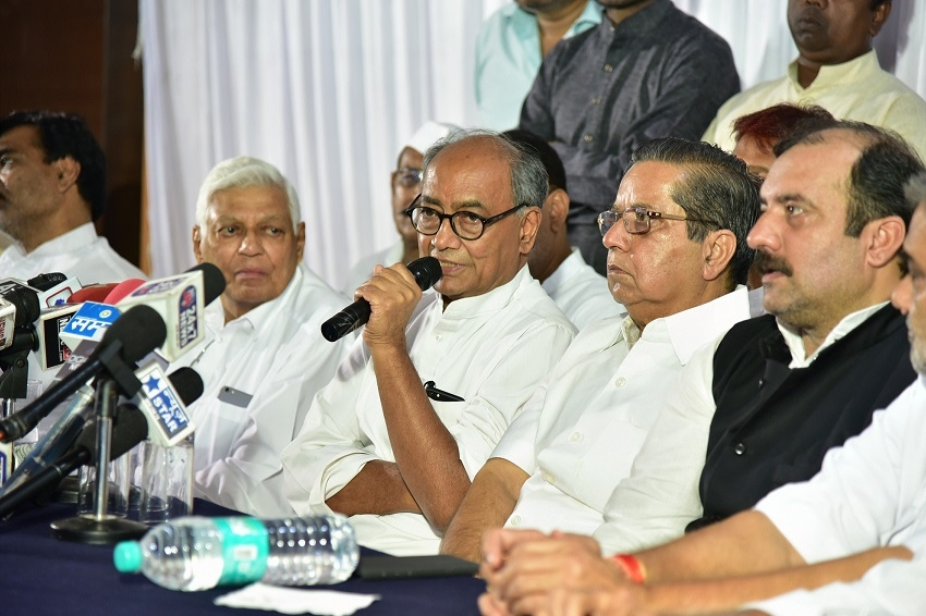 Diggy begins Narmada Yatra on 30th