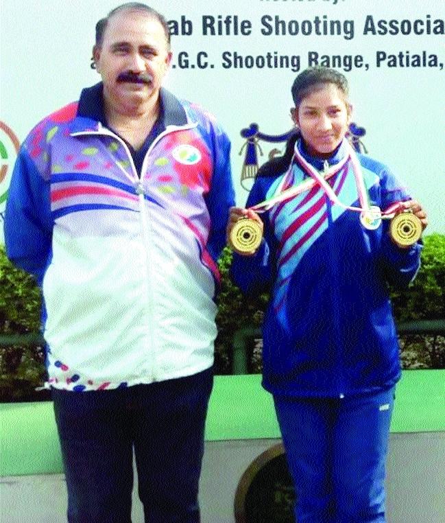 Shooter Parvati Kumari does State proud