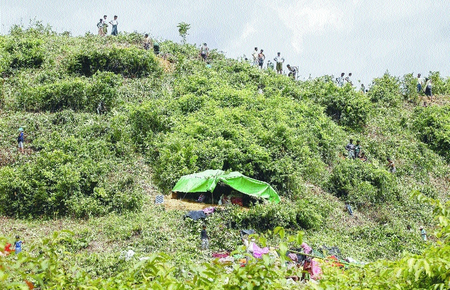 'Over 58,000 Rohingya fled into B'desh'