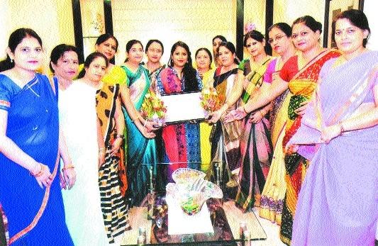 District Sahu Mahila Mandal welcomes RDU's Dr Abhinika