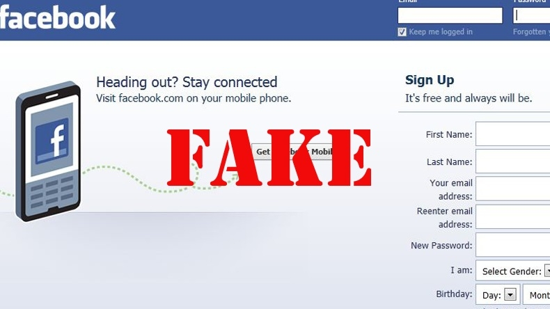 One held for harassing girl with fake Facebook account