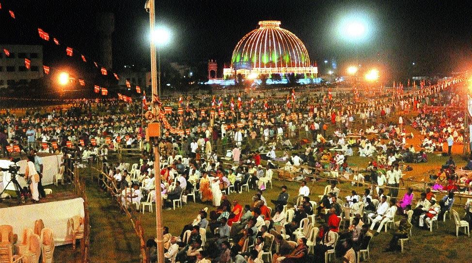 City all set to celebrate 61st Dhammachakra Pravartan Din today
