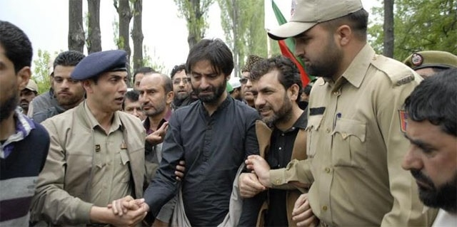 Yasin Malik arrested