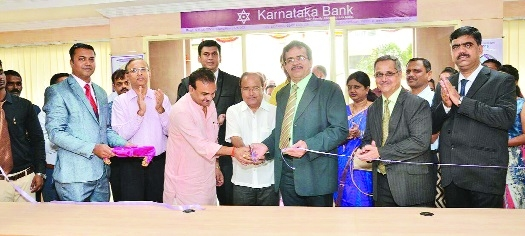Karnataka Bank opens branch at Manish Nagar