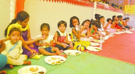 Rituals of 'Kalash Yatra', 'Kanya Bhoj' mark Mahanavami in Bhilai