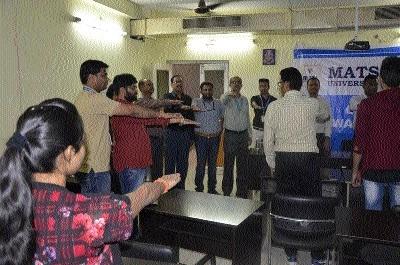 Prize distribution ceremony at MATS University
