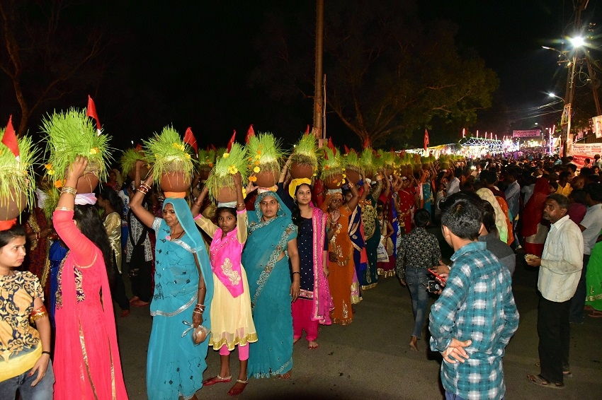 Jawara immersion of Khermai Gorakhpur carried out