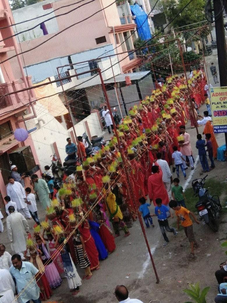 Jawara procession taken out as per tradition